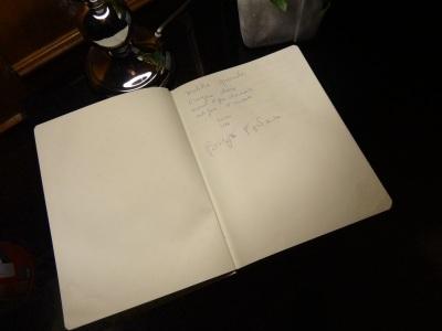 Brigitte Fontaine Livre d'Or