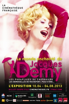Affiche expo JACQUES DEMY