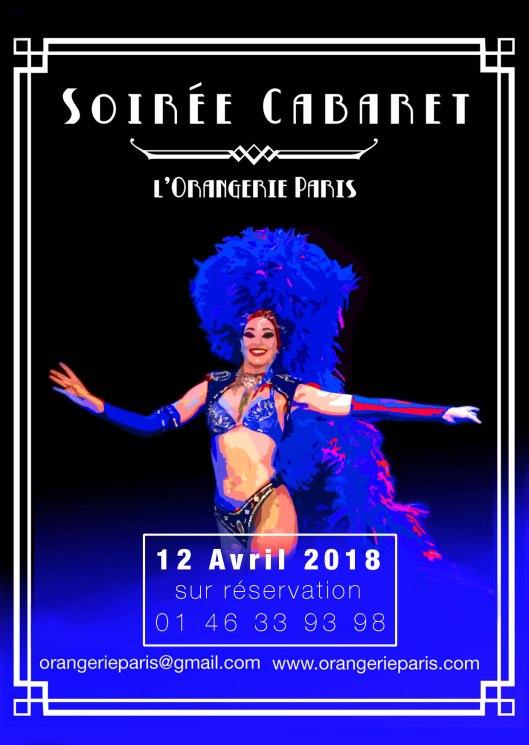 Affiche orangerie 12 avril bleue